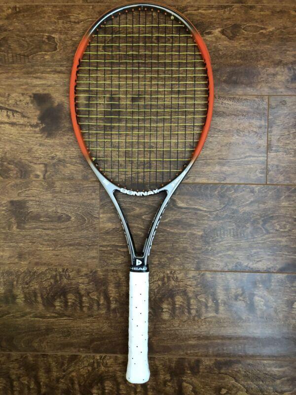 Donnay X-Orange 99 Tennis Racquet - 4 1/4 & Bonus