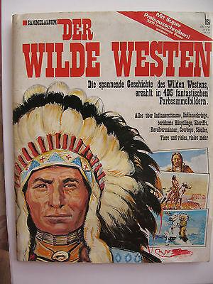 """Sammelbilderalbum """"Der Wilde Westen"""", BSV Verlag 1971, komplett"""