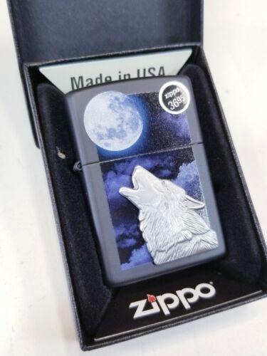 ZIPPO Howling Wolfs Lighter #28879 NIB Z49