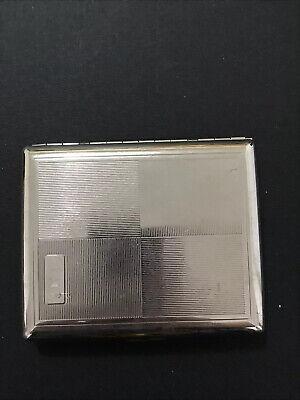Vintage Silver Business Card Holder