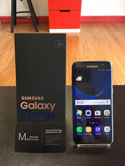 Perfect Condition Samsung Galaxy S7 Edge, Black Only, 32G