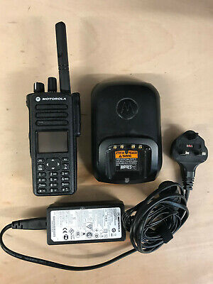 MOTOROLA DP4801E UHF COMPLETE RADIO WPLN4226A LI-ION CHARGER
