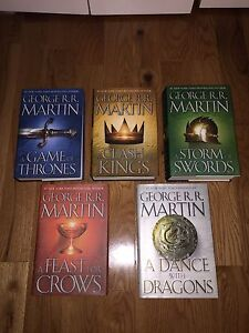 A Game of Thrones by George R.R. Martin -    Book Series