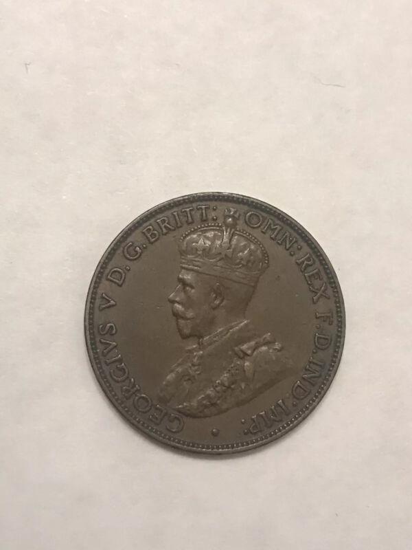 Australia 1918I 1/2d. XF/AU (8300)