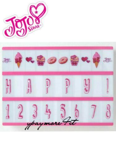JoJo Siwa LED Message Light Up Board 90 Letter Symbol Tiles & Designs 1