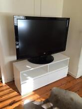 White TV cabinet a Northbridge Willoughby Area Preview