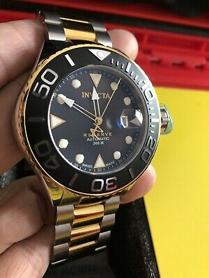 Invicta Reserve Grand Diver Swiss Made Automatic Steel 50mm Watch 7750 Valjoux