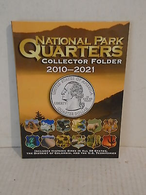 Whitman Coin Folder National Park Quarters Date Set Album 2010 - 2021 #2883