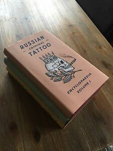 Russian criminal tattoo encyclopedia set