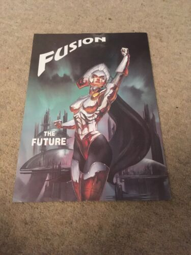 Fusion The Future 29 March 1996 The Commodore Hotel Stonehaven Rave Flyer Flyers