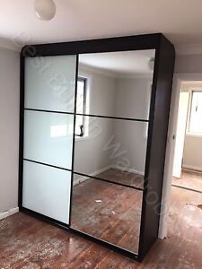 Free quote on black frame wardrobes Bass Hill Bankstown Area Preview