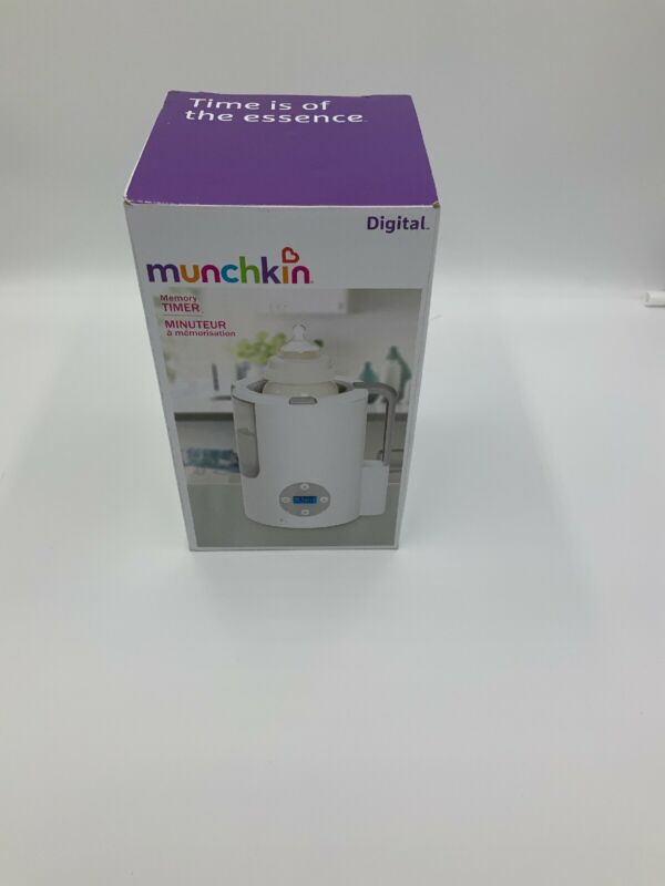Munchkin Digital Bottle Warmer - White