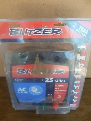 Blitzer Eac25m-z 25-mile Battery Low Impedance Electric Fence Controller