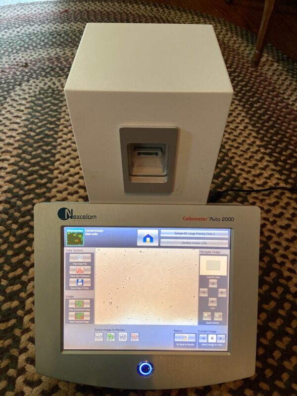Nexcelom Cellometer Auto 2000 Cell Viability Counter with Touchscreen MSRP: $16K