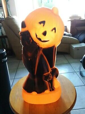GENERAL FOAM BLOW MOLD HOLLWEEN WITCH CAT