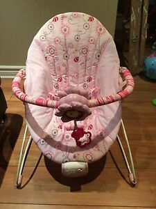 Bright stars baby bouncer chair