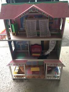 Large Doll House - 3 ft heigh