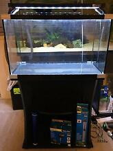 65L Fish Tank Aqua One Horizon, Stand, LED light, Filter, Heater Manly Manly Area Preview