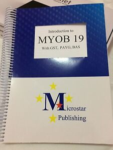Introduction to MYOB 19 with GST, PAYG, BAS Angle Park Port Adelaide Area Preview