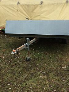 Have double wide tilting sled trailer
