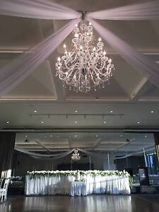 Large crystal Chandelier Hire - Luxe Chandeliers Melbourne CBD Melbourne City Preview
