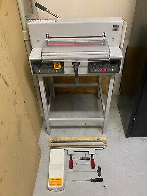 Triumph 4215 Electronic Guillotine Paper Cutterdigital Display Led Guide