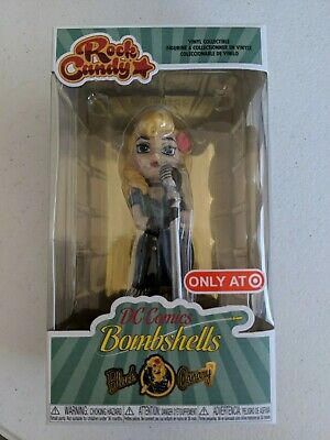 Funk Rock Candy DC Bombshell BLACK CANARY Target Exclusive NEW (Target Candy)