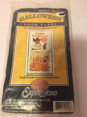 HALLOWEEN DOOR PANEL ~ DANE HILL EXPRESSIONS - Halloween Expressions