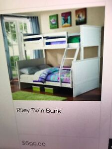 Double bed bottom & single bed top bunk Seville Grove Armadale Area Preview