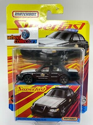 2006 Ford Crown Victoria Police * 2020 Matchbox Superfast Case E