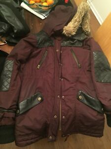 Winter jacket & leather jacket