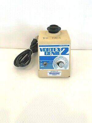 Vwr Scientific Industries Vortex Genie 2 Vortexer G-560 Flat Top W Warranty