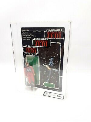 STAR WARS VINTAGE TRI LOGO B-WING PILOT FACTORY ERROR UKG80% NOT AFA MOC FIGURE