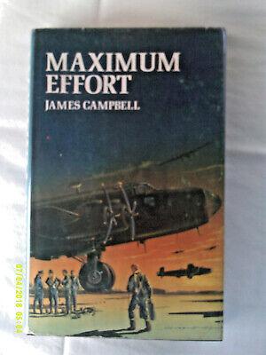 Maximum Effort. James Campbell. Undated reprint. H/b. D/w.