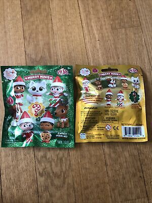 2 THE ELF ON THE SHELF 2020 SERIES 1 MERRY MINIS COLLECTIBLE FIGURE ELF PETS