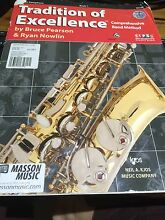 Alto Saxophone Book 1 *Tradition of Excellence ** wz CD Daisy Hill Logan Area Preview