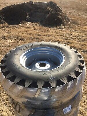 Titan 18.4-30 Bias 6 Ply R1 Tractor Tire With Adj Ag Wheel 18.4x30 18.4r30
