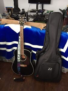 Jay Turser Guitar, Strap, and Fabric Bag