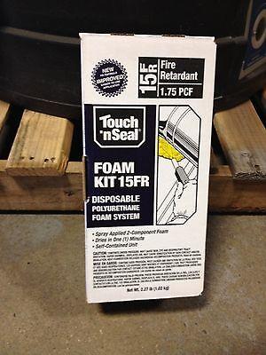 Touch N Seal Diy U2-15 Spray Closed Cell Foam Insulation Kit