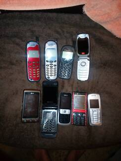 Assorted Mobile Phones
