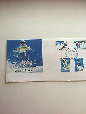 First day cover Australia 1984 Skiing In Australia Warringah Mall (Warringah Mall)