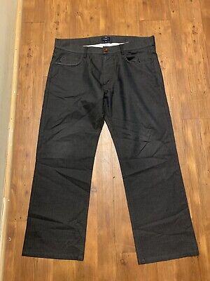PAUL SMITH straight Leg Gray Jeans Mens 34x30