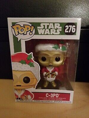 Funko Pop Holiday Christmas : Star Wars : C-3PO #276 Vinyl Figure