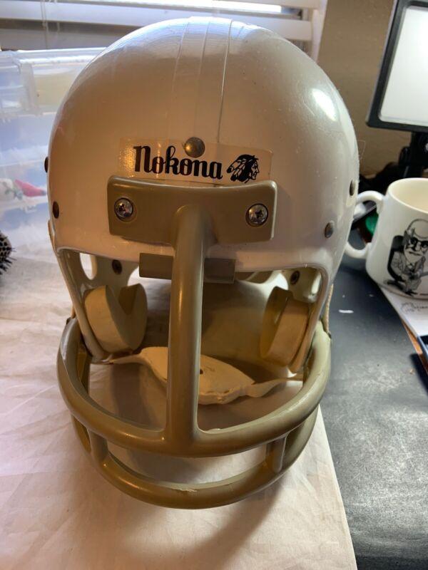 Vtg Nokona Football Helmet