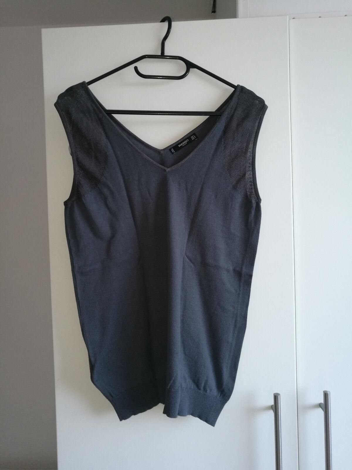 Damen-Pullunder von Mango Basics. Größe L in Grau. NEU und Ungetragen!