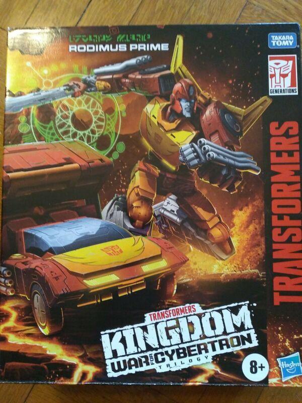 Transformers Kingdom Rodimus Prime WFC-K29 War Cybertron Figure Lot IN HAND!