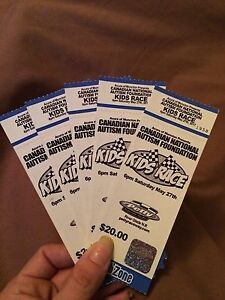 Kids car race 2 tickets left race is tonight at 6pm