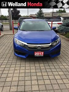 2017 Honda Civic EX- WITH HONDA SENSING!