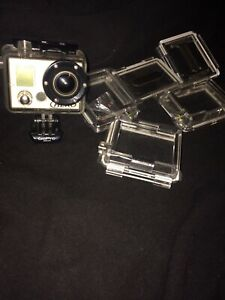 GoPro hero1 great condition with lcd screen 1080p maybe nego!!