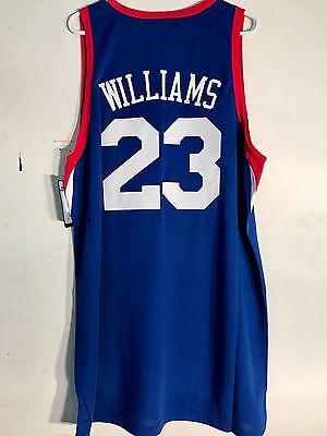 Adidas Swingman NBA Jersey Philadelphia 76ers Louis Williams Blue sz 2X